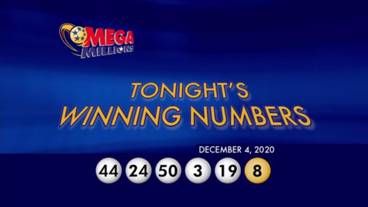 Mega Millions winning numbers for December 4th, 2020
