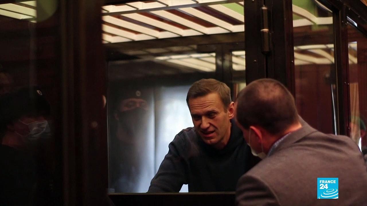 Jailed Kremlin critic Navalny goes on hunger strike