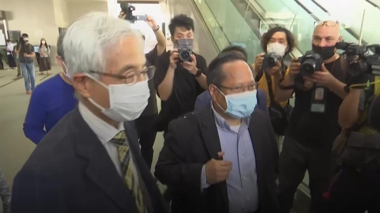 Seven convicted over Hong Kong pro-democracy protests