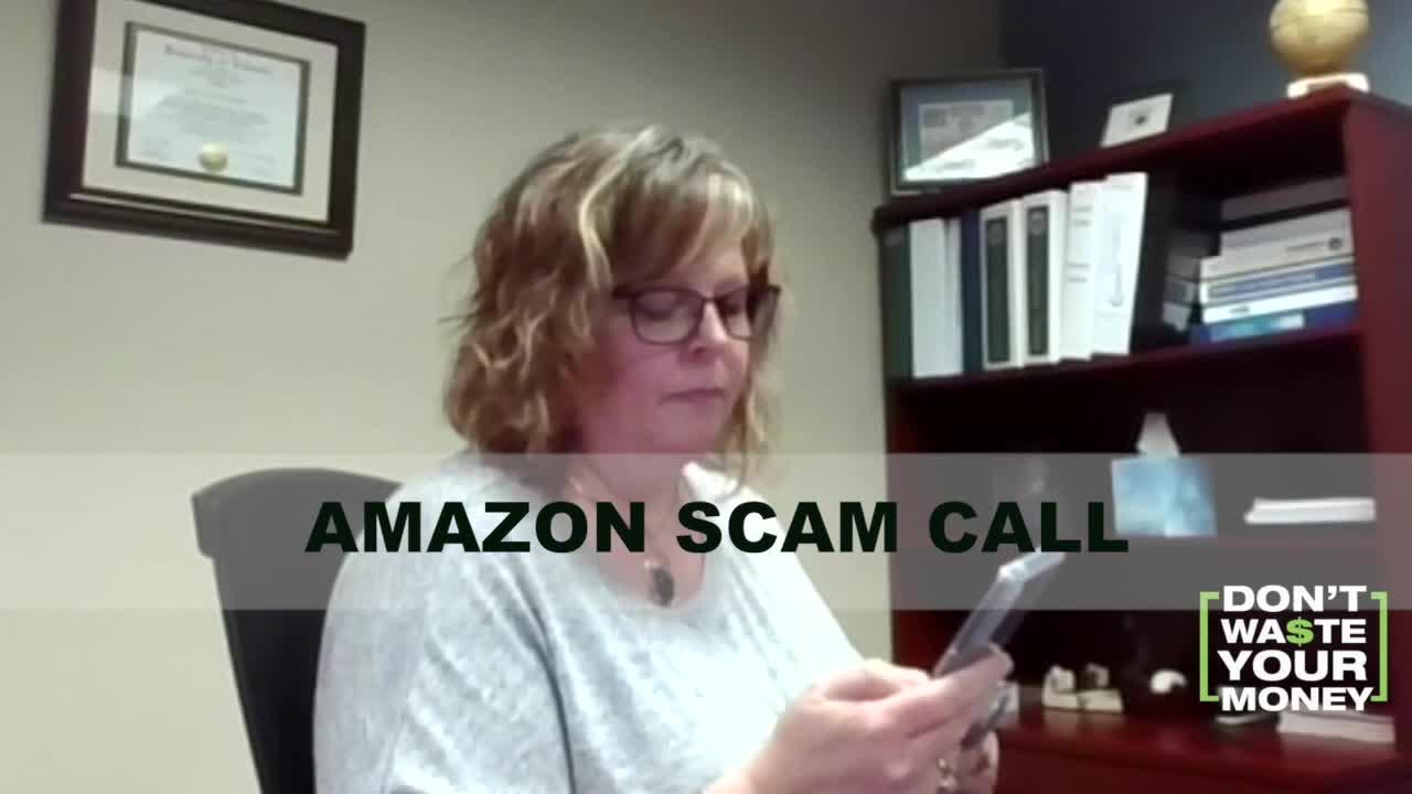 Beware fake Amazon calls