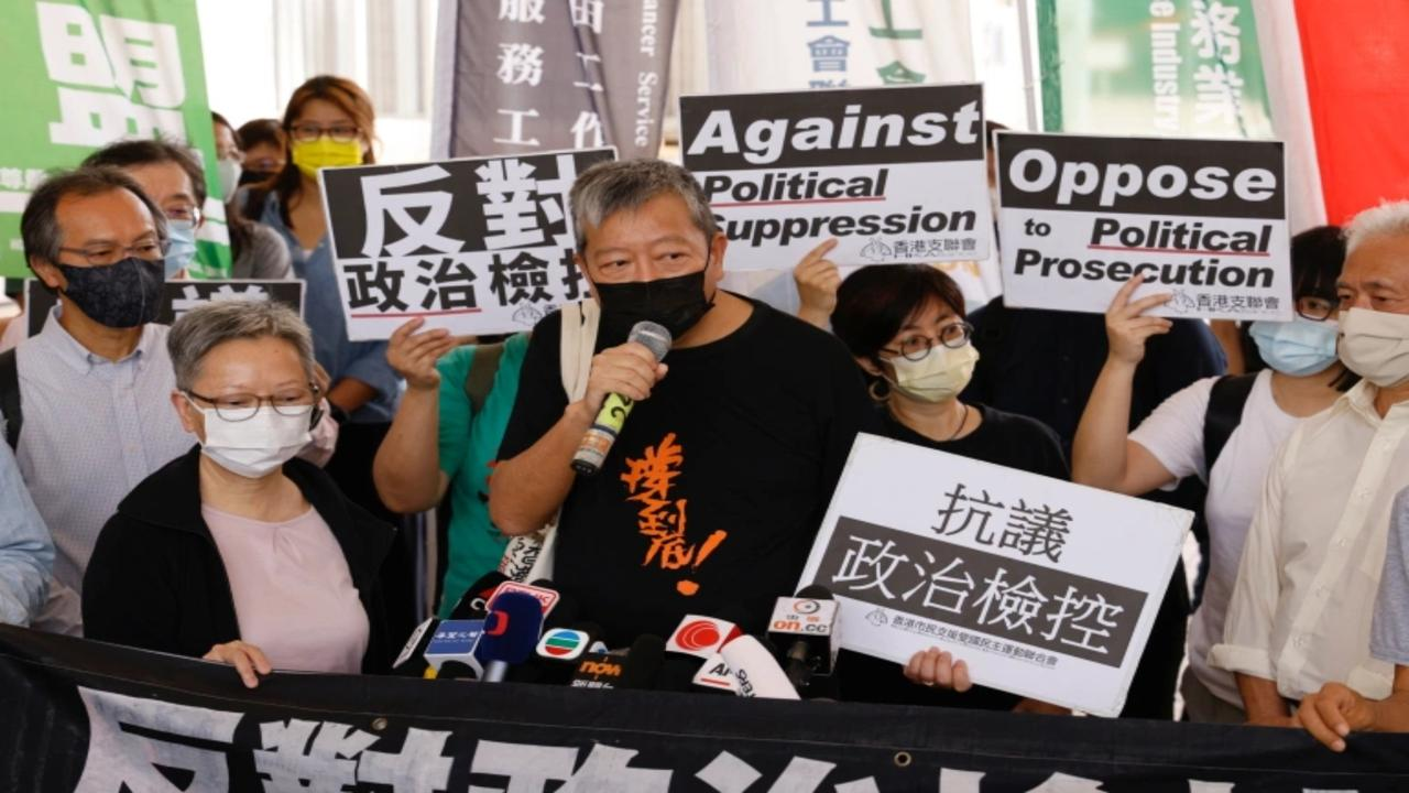 Veteran Hong Kong democracy leaders convicted over peaceful rally
