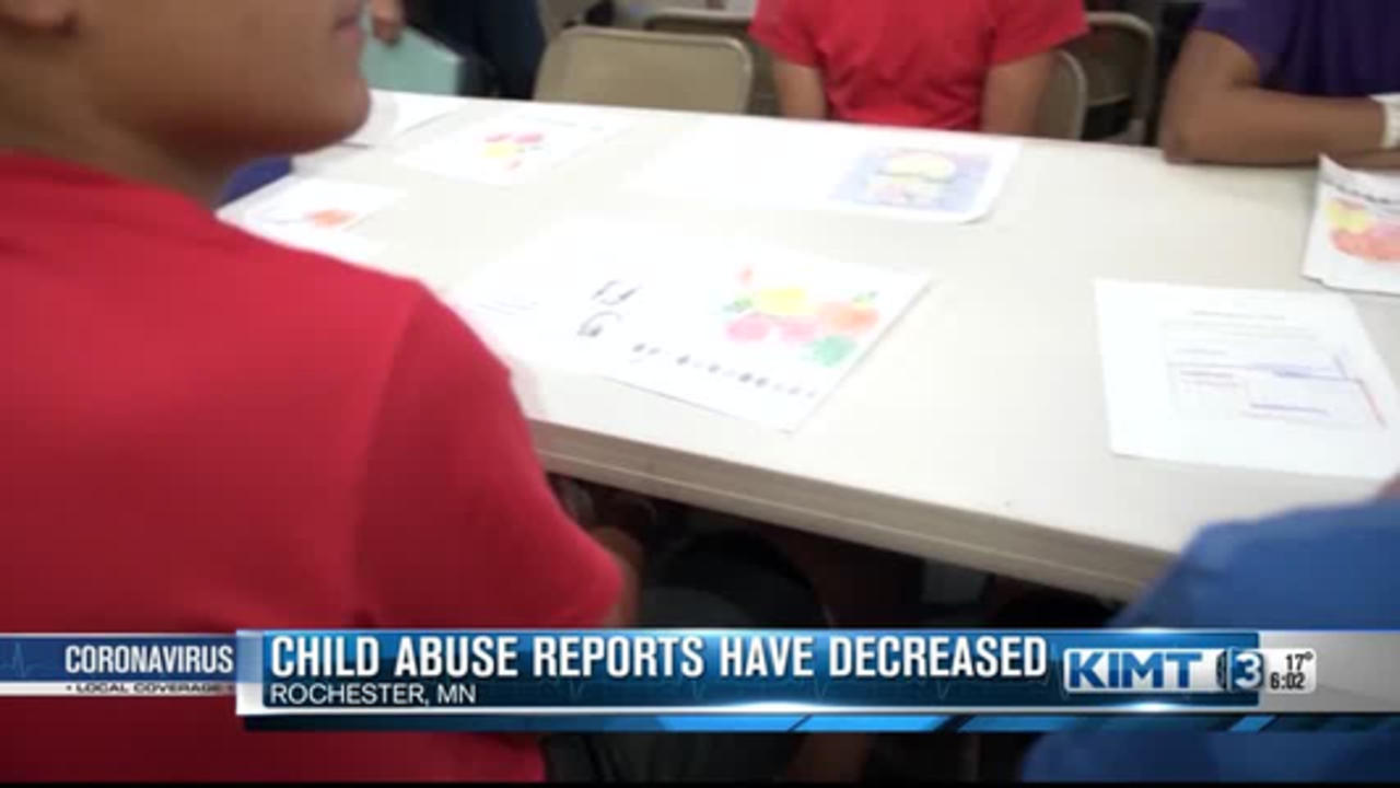 Child abuse reports are down