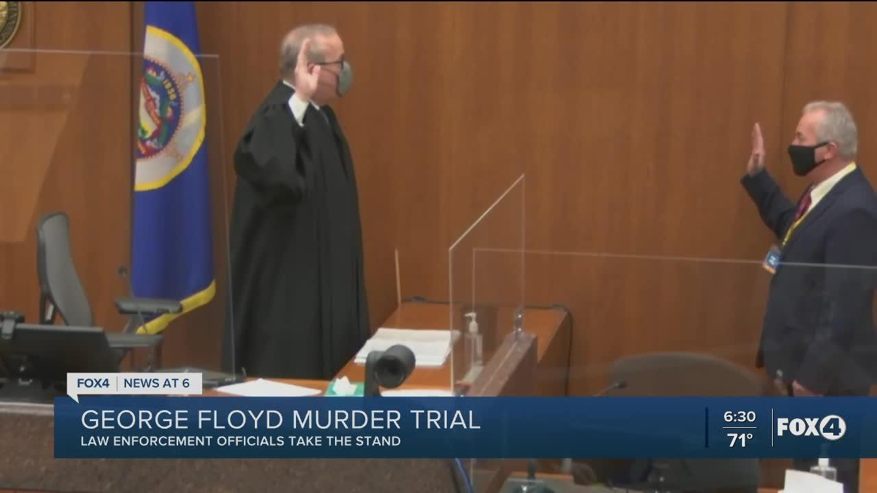 Senior officer calls Chauvin's use of force against Floyd 'totally unnecessary'