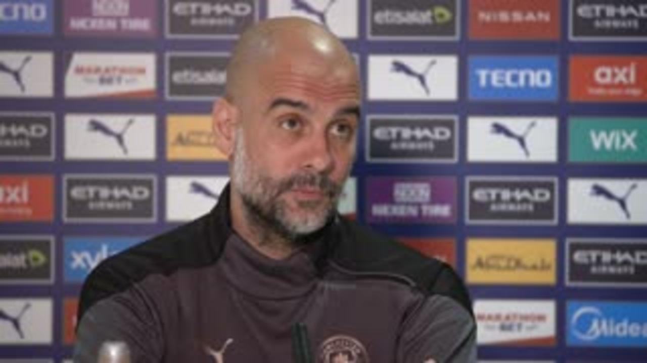 Pep: Aguero will play his part until he leaves