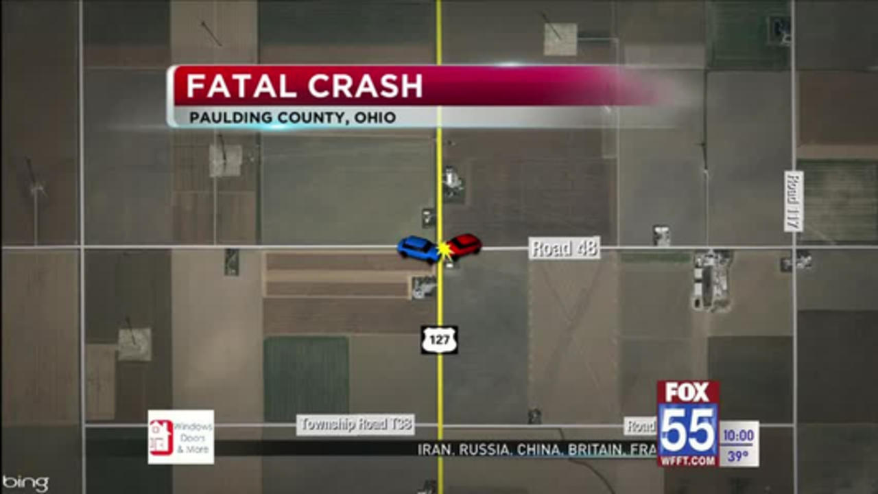 Paulding County crash at US 127 and Township Road 48  leaves woman dead, 2 hurt