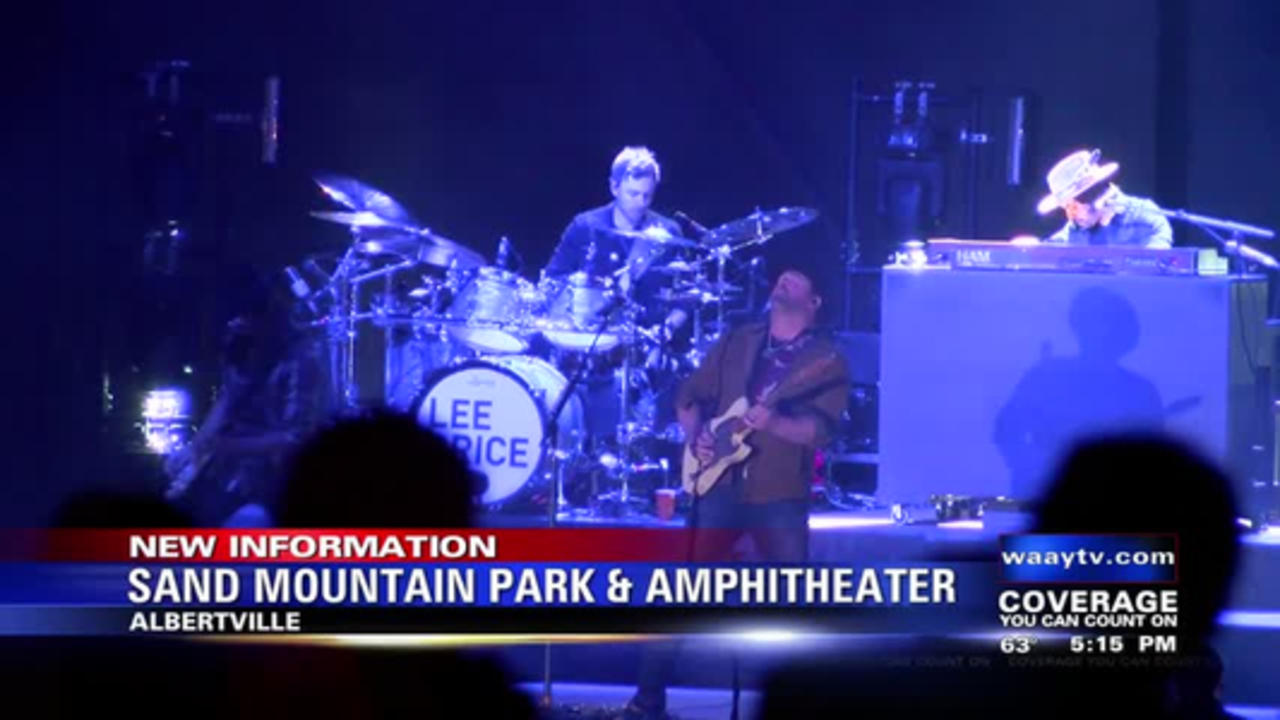 Sand Mountain Park and Amphitheater Holds First Concert