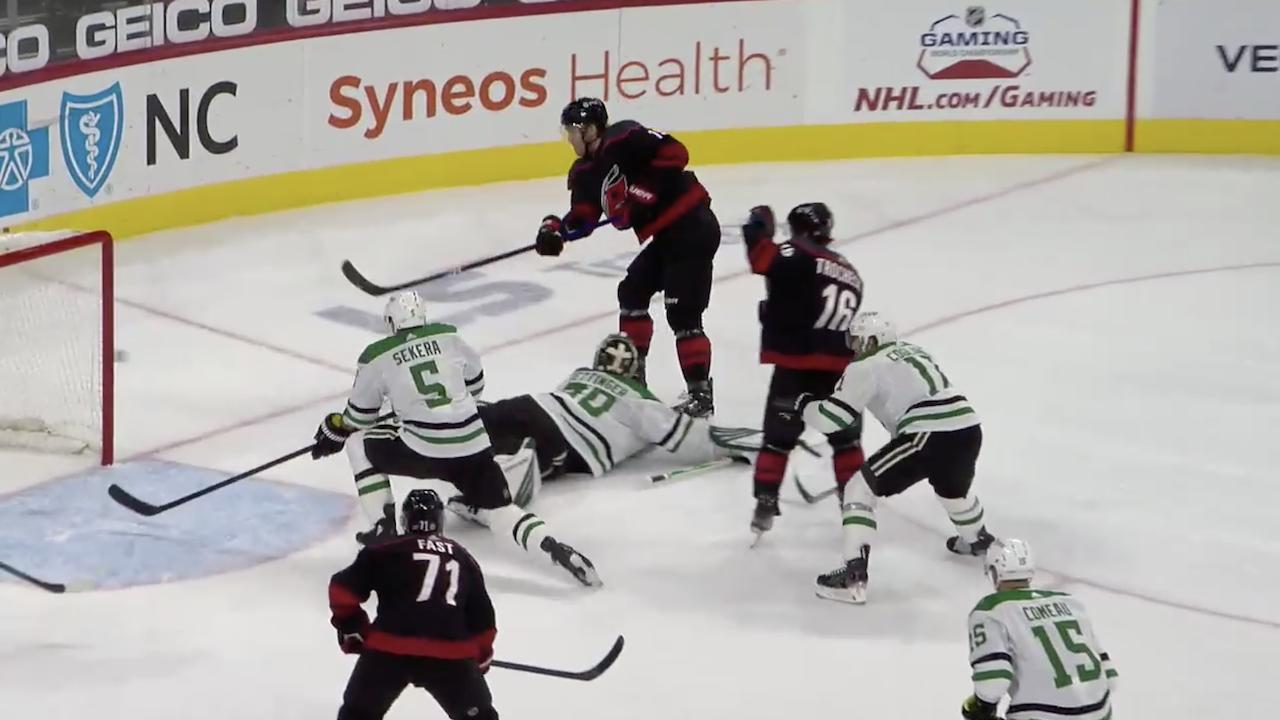 Hamilton's 100th Career NHL Goal