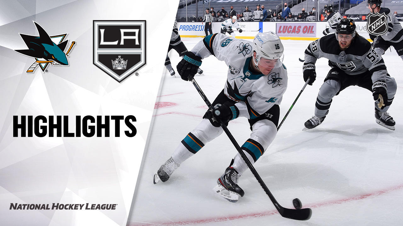 Los Angeles Kings vs. San Jose Sharks - Game Highlights