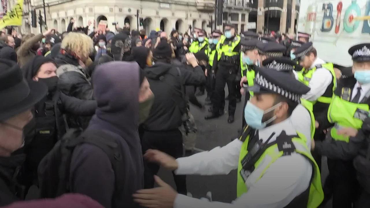 'Kill the Bill' protestors take to the streets across England