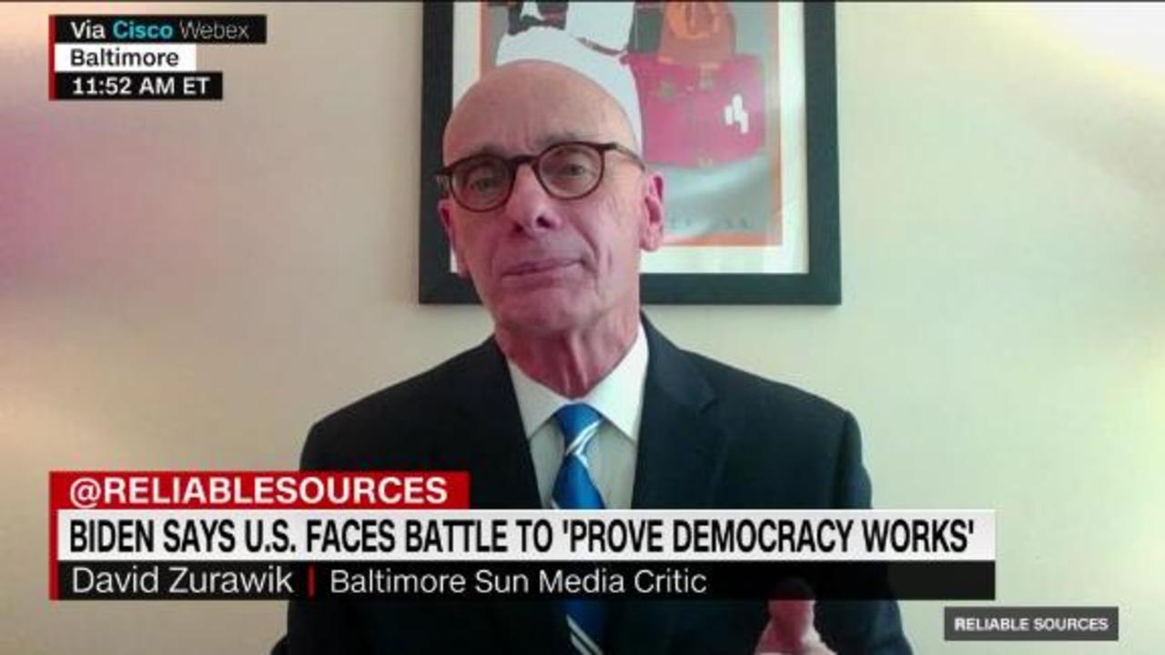 Zurawik on Biden's warning about democracy versus autocracy