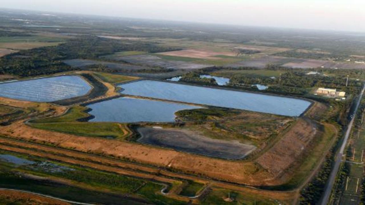 Toxic Florida wastewater pool threatening to leak into aquifer