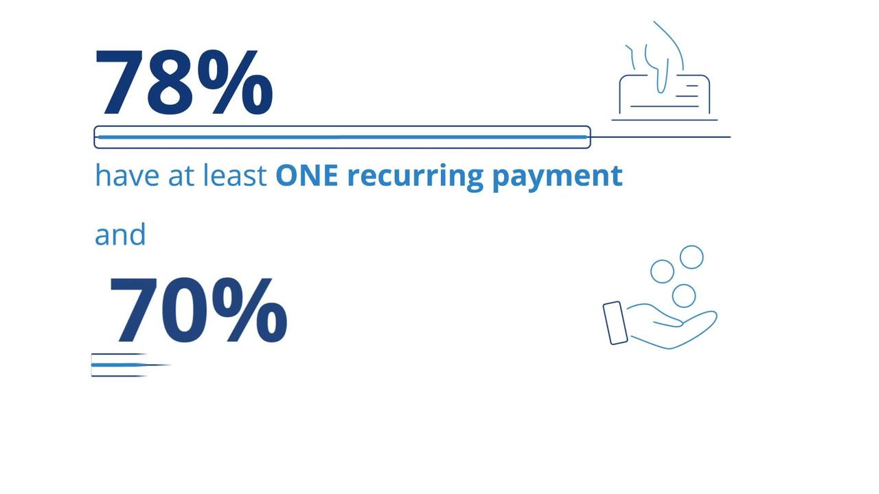 Do you know how much you're spending every month thanks to recurring automatic payments? Most have no clue