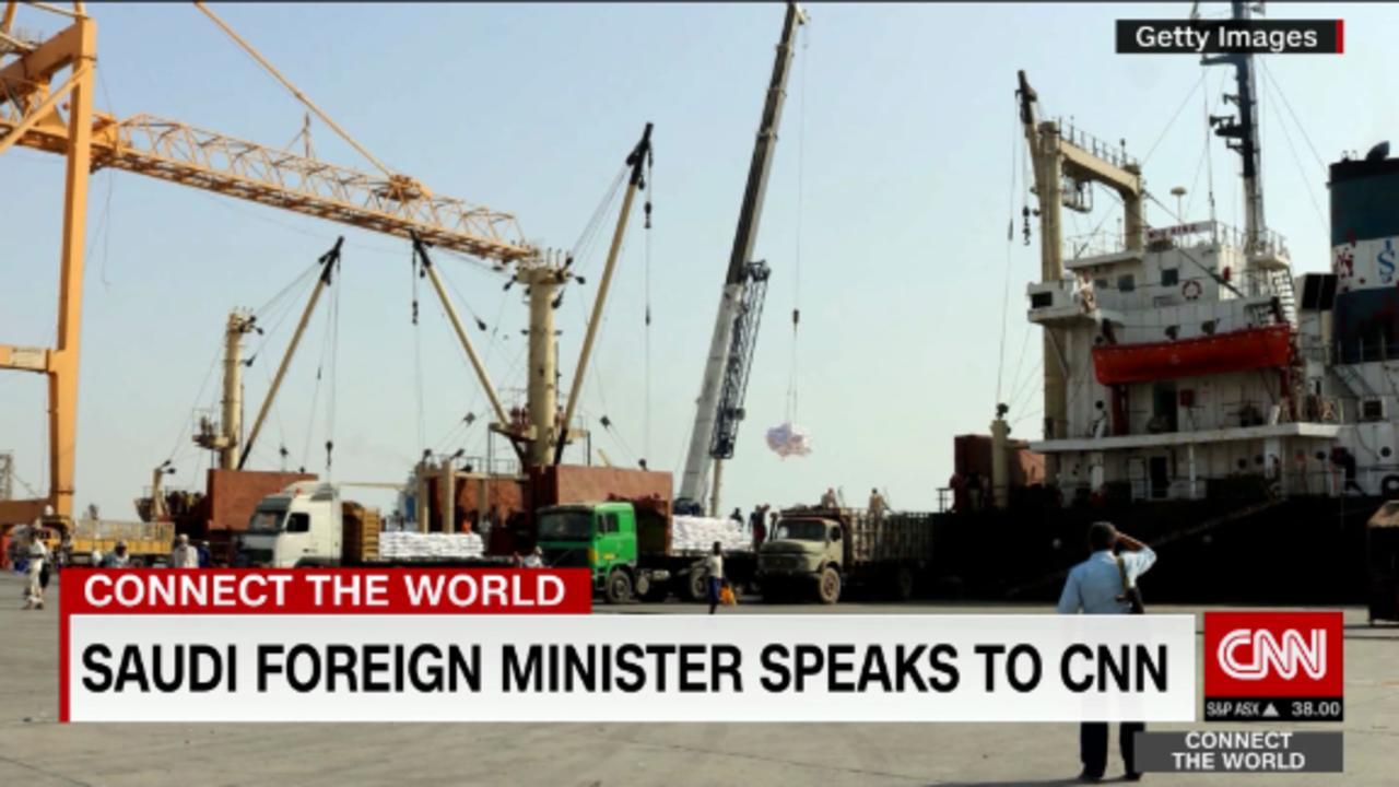 Saudi FM: Yemen Hodeidah blockade doesn't exist