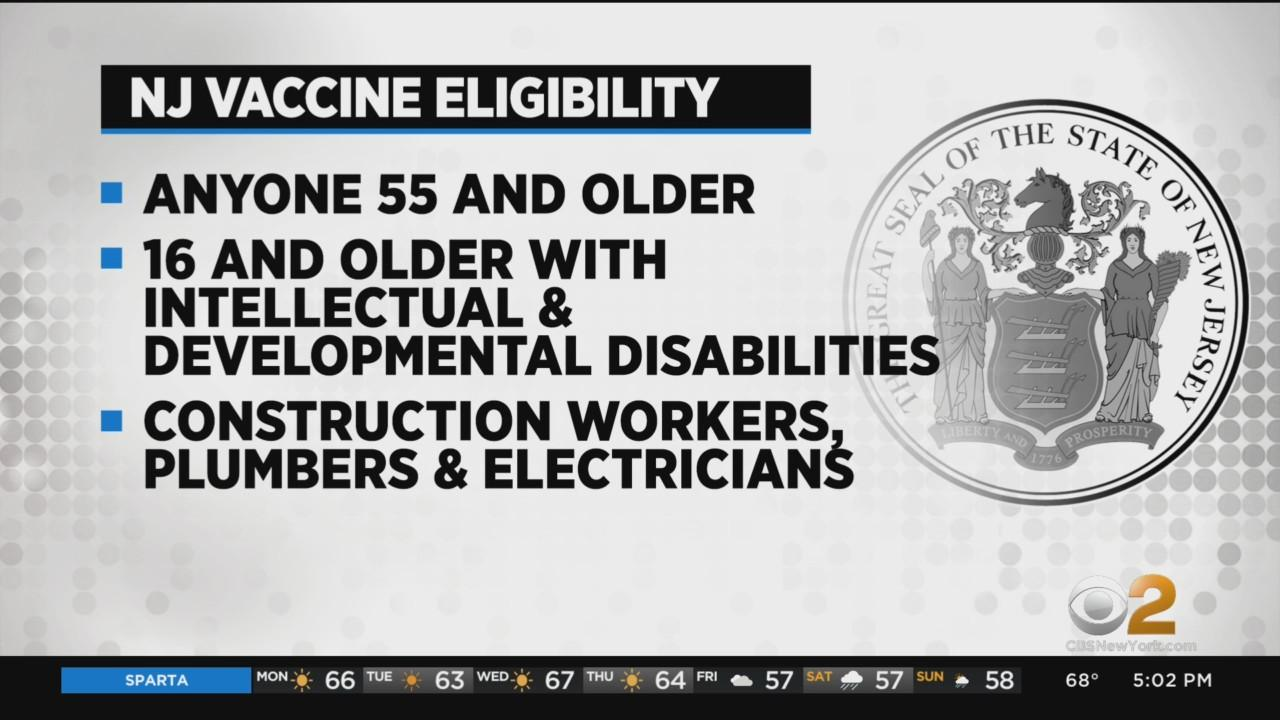All New Jersey Residents Over 16 Will Be Eligible For Vaccine On April 19