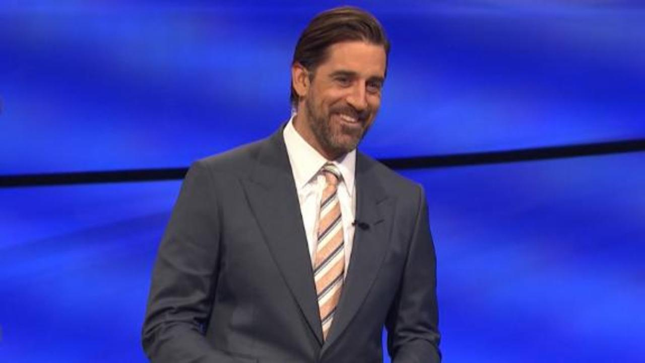 Aaron Rodgers laughs off hilarious answer on 'Jeopardy!'