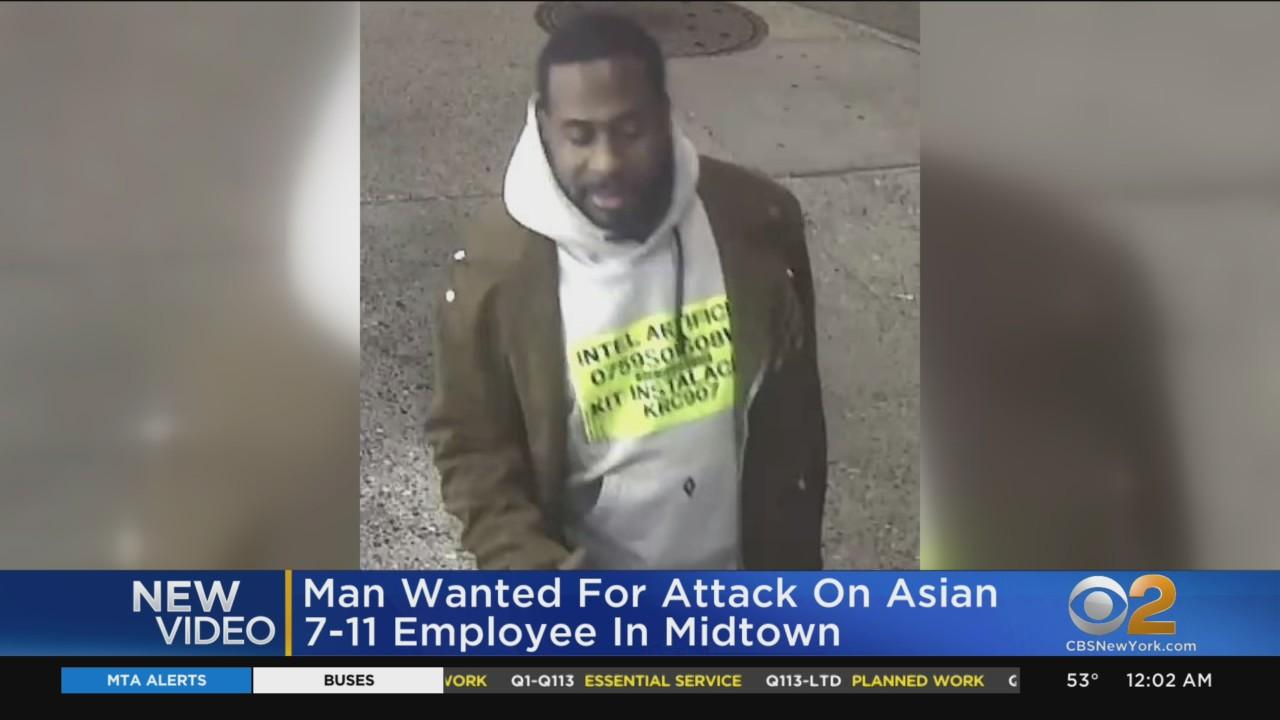 New Images Of Man Wanted For Attack On Asian 7-Eleven Worker In Midtown