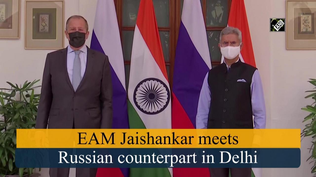 EAM Jaishankar meets Russian counterpart in Delhi
