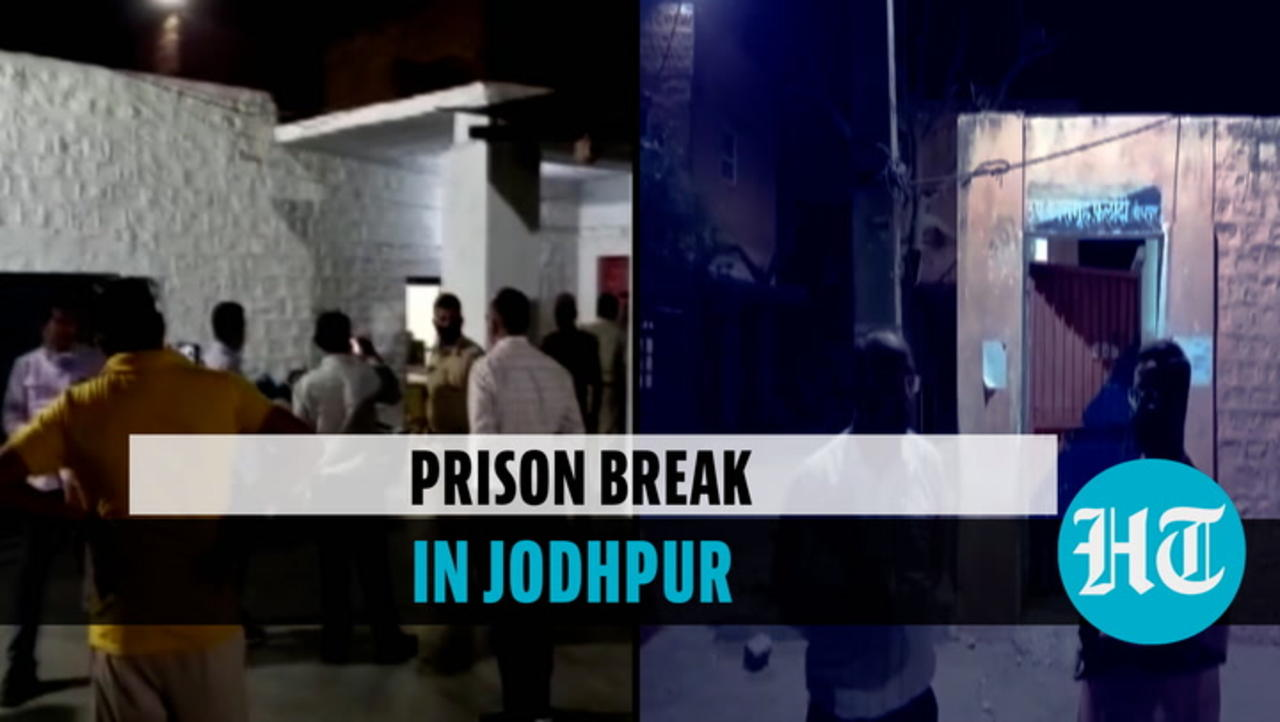16 prisoners flee from Jodhpur jail after throwing chilli powder in eyes of guards