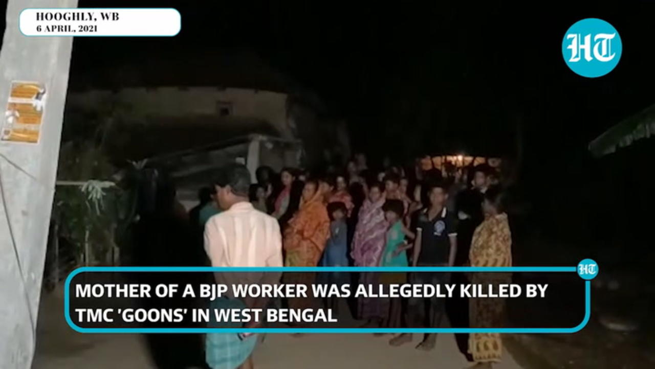 Bengal polls: BJP worker's mother allegedly killed by TMC in Hooghly's Goghat