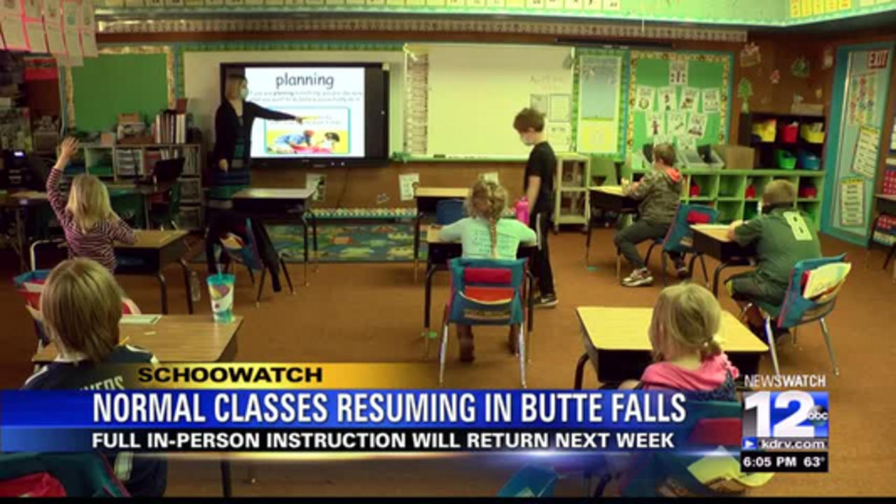 Butte Falls Schools returning to in-person learning full-time