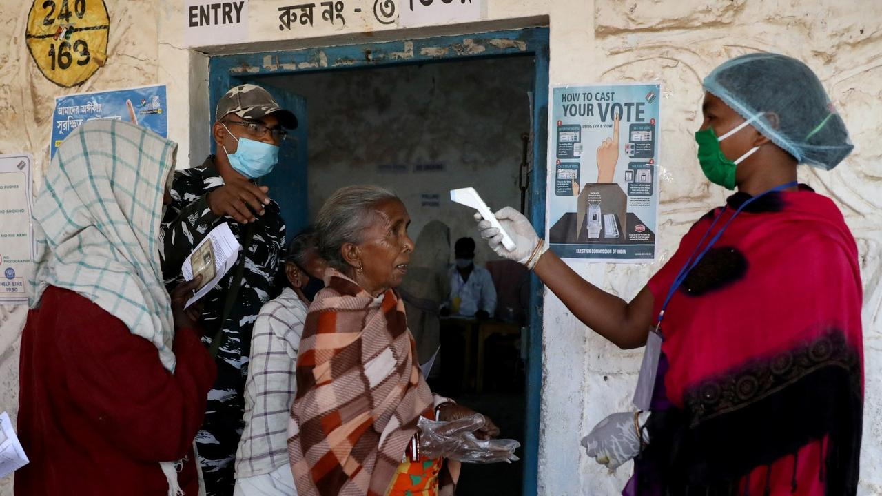 Indian states vote in assembly polls amid surge in COVID cases