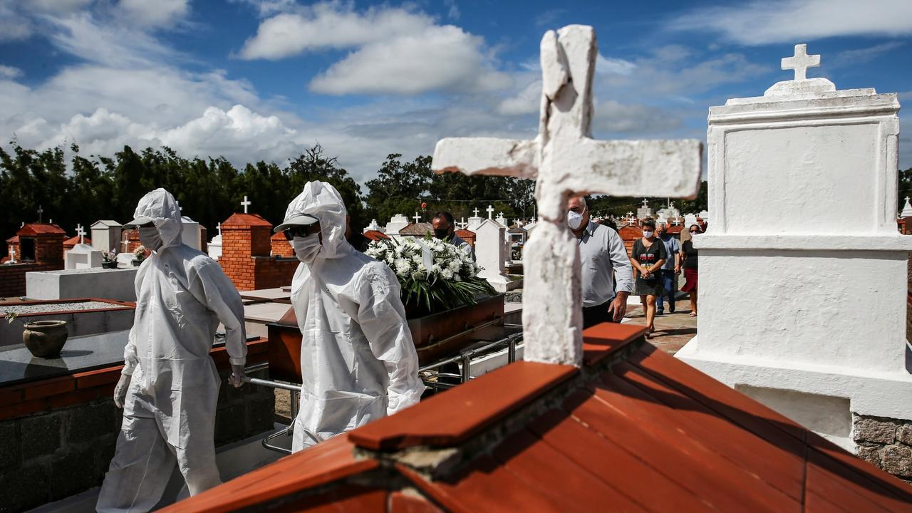 In new grim record, Brazil surpasses 4,000 daily COVID deaths