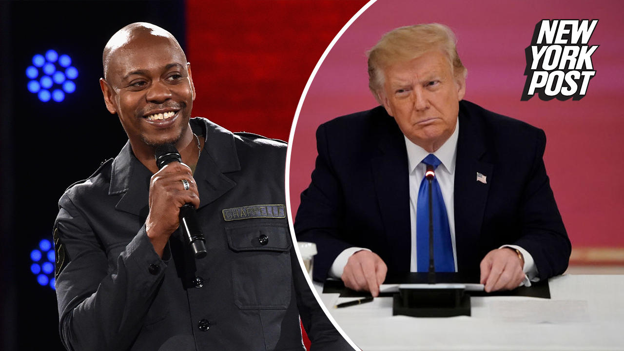 Nasty notes left for Trump staffers came from celebs, not Obama aides, Dave Chappelle says