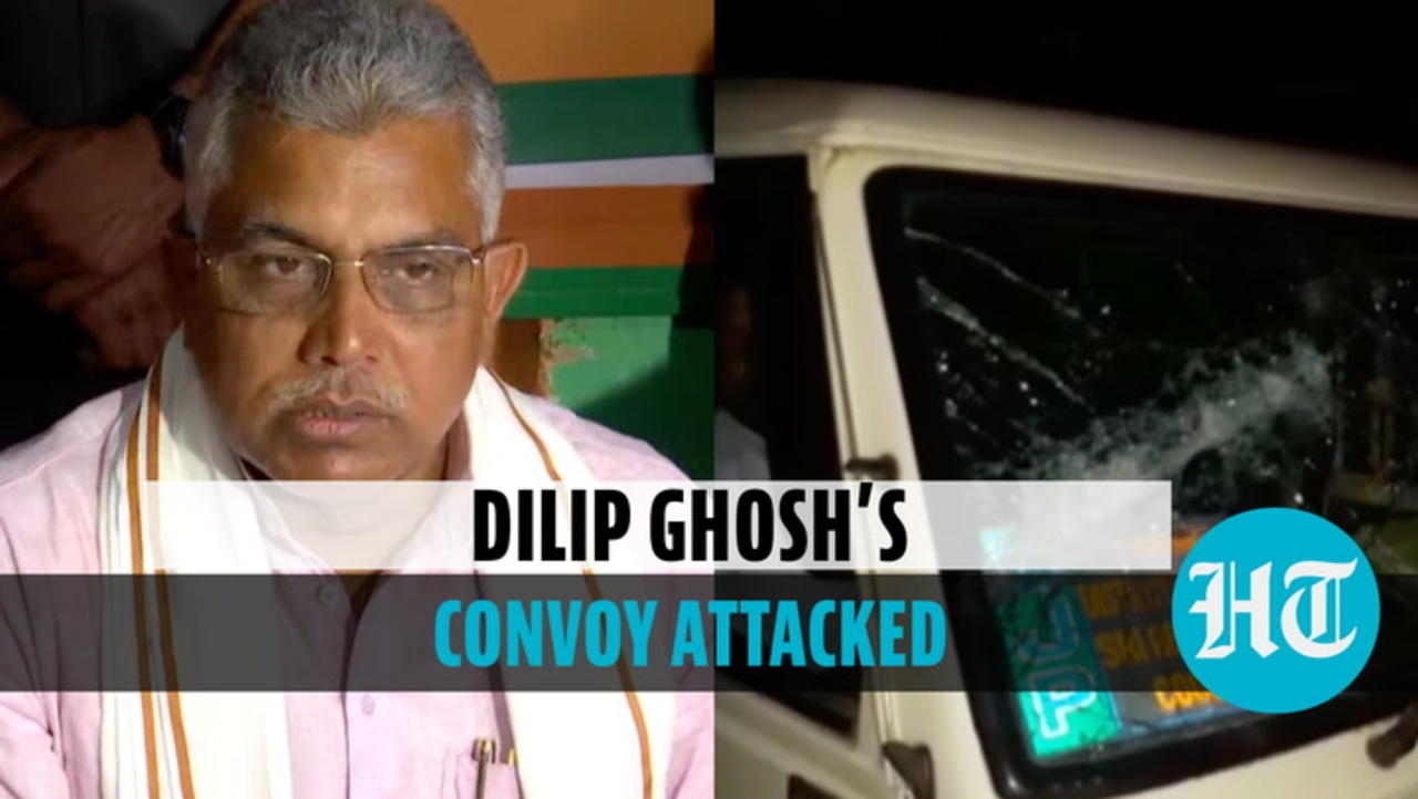 'Hurled crude bombs': Dilip Ghosh alleges attack by TMC workers in North Bengal