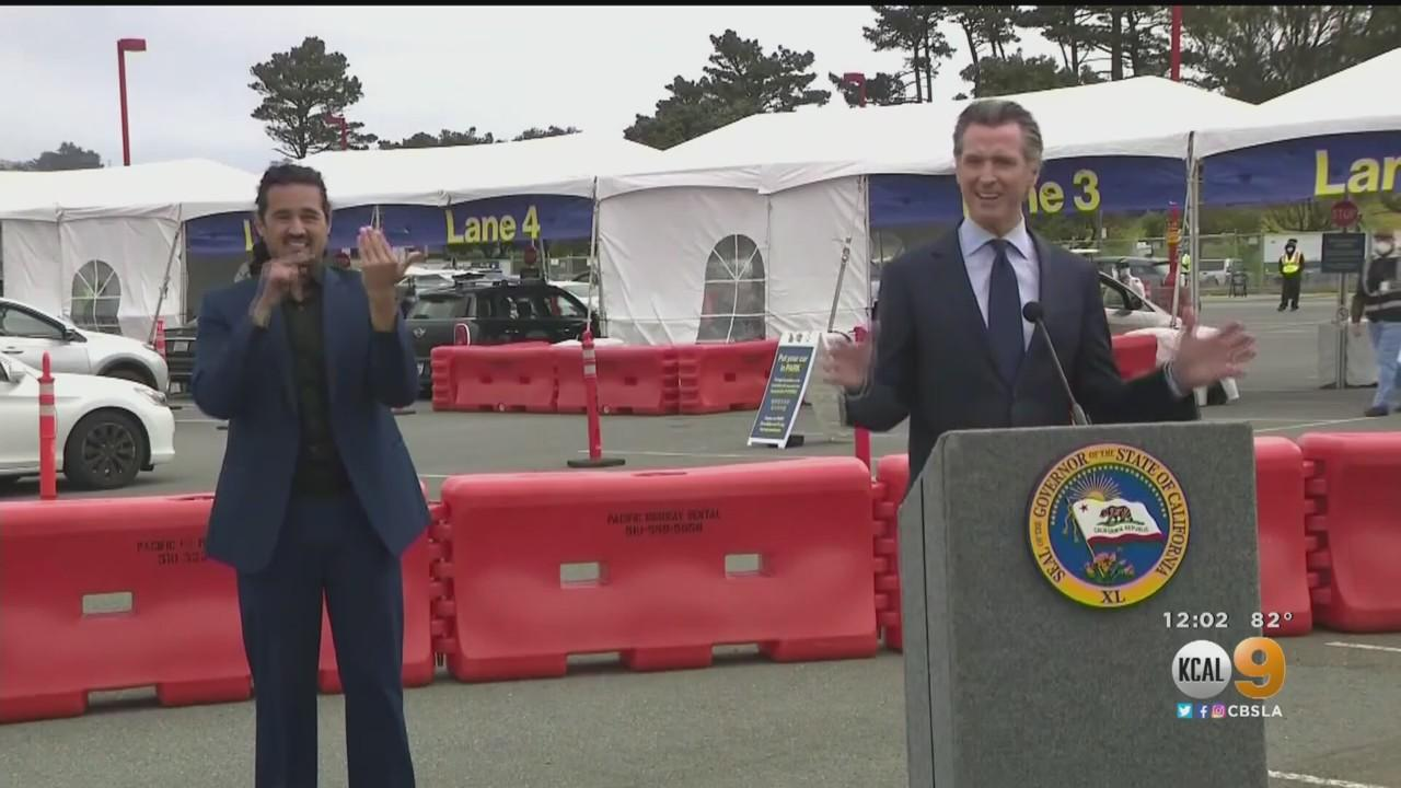Governor Newsom Hopeful for Statewide Easing of Pandemic Restrictions by June