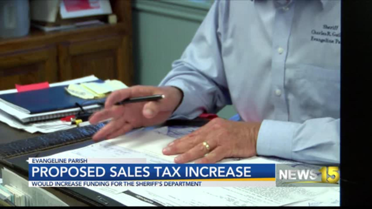 One cent sales tax for Evangeline Parish Sheriff's Office