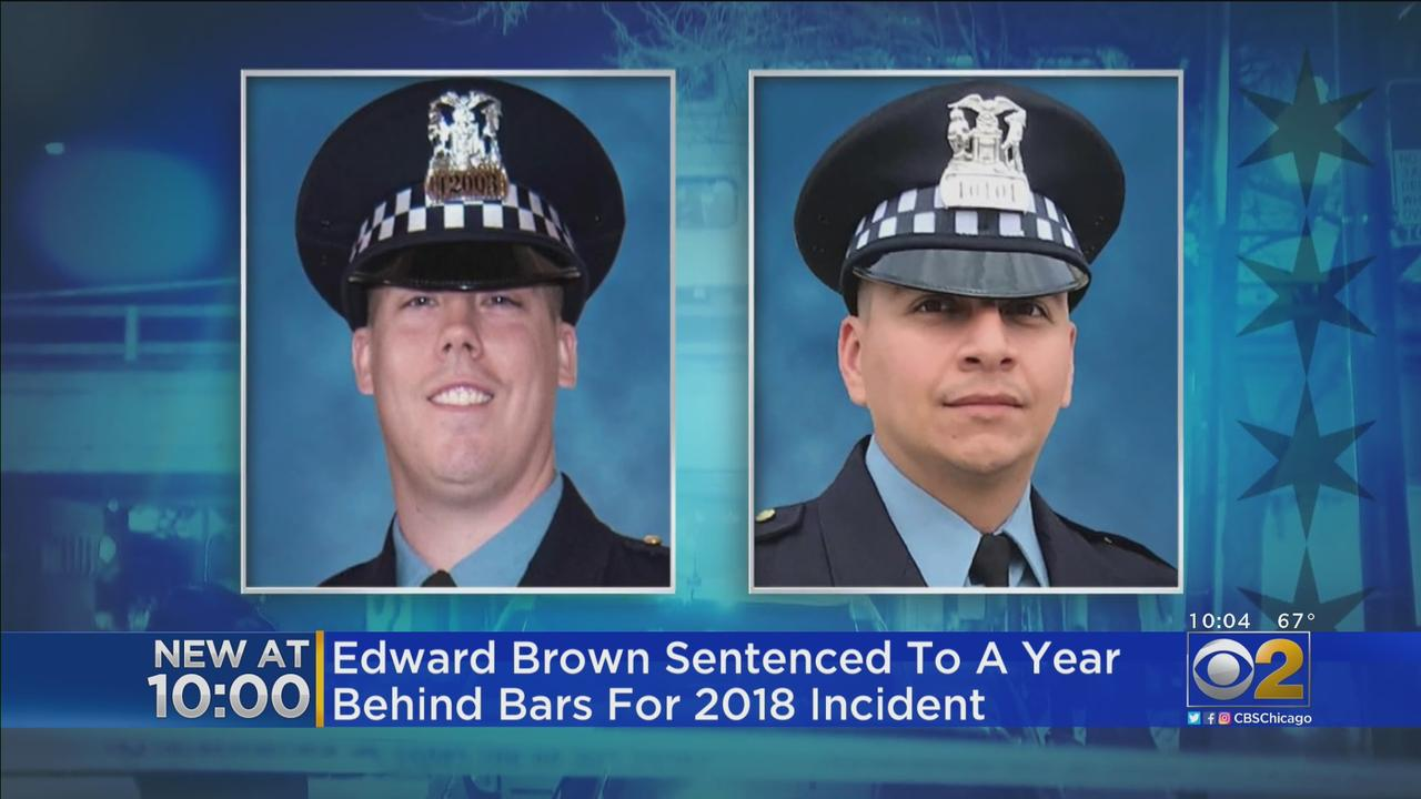 Edward Brown Gets A Year In Prison For Test-Firing Gun; Chain Of Events Ended With 2 Officers' Deaths