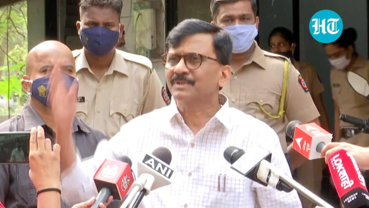 'Such dirty politics…': Sanjay Raut on Anil Vaze's letter naming Anil Parab