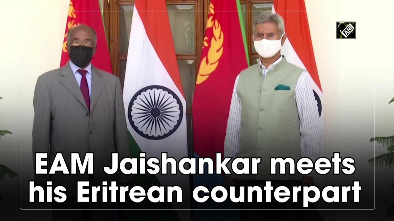 EAM Jaishankar meets his Eritrean counterpart