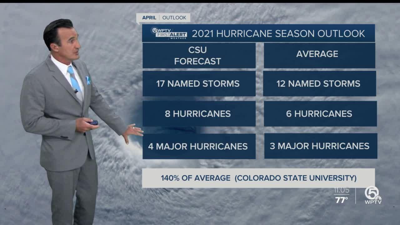 Researchers predict above-average 2021 Atlantic hurricane season