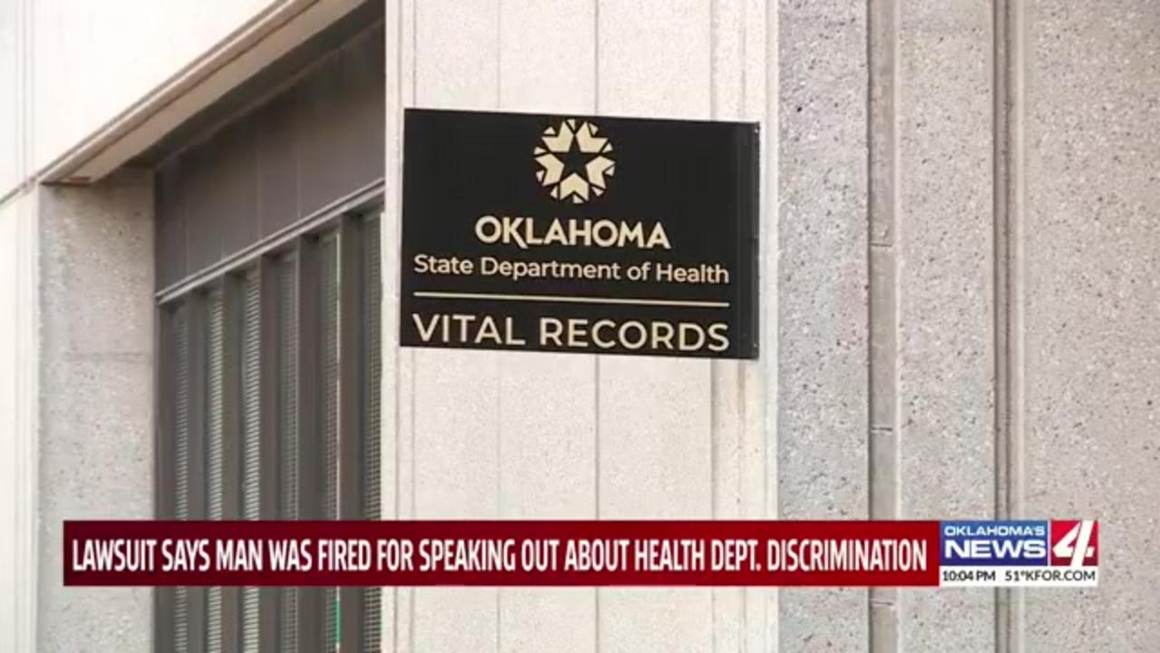 Former Oklahoma health employee says he was fired for speaking up against discrimination