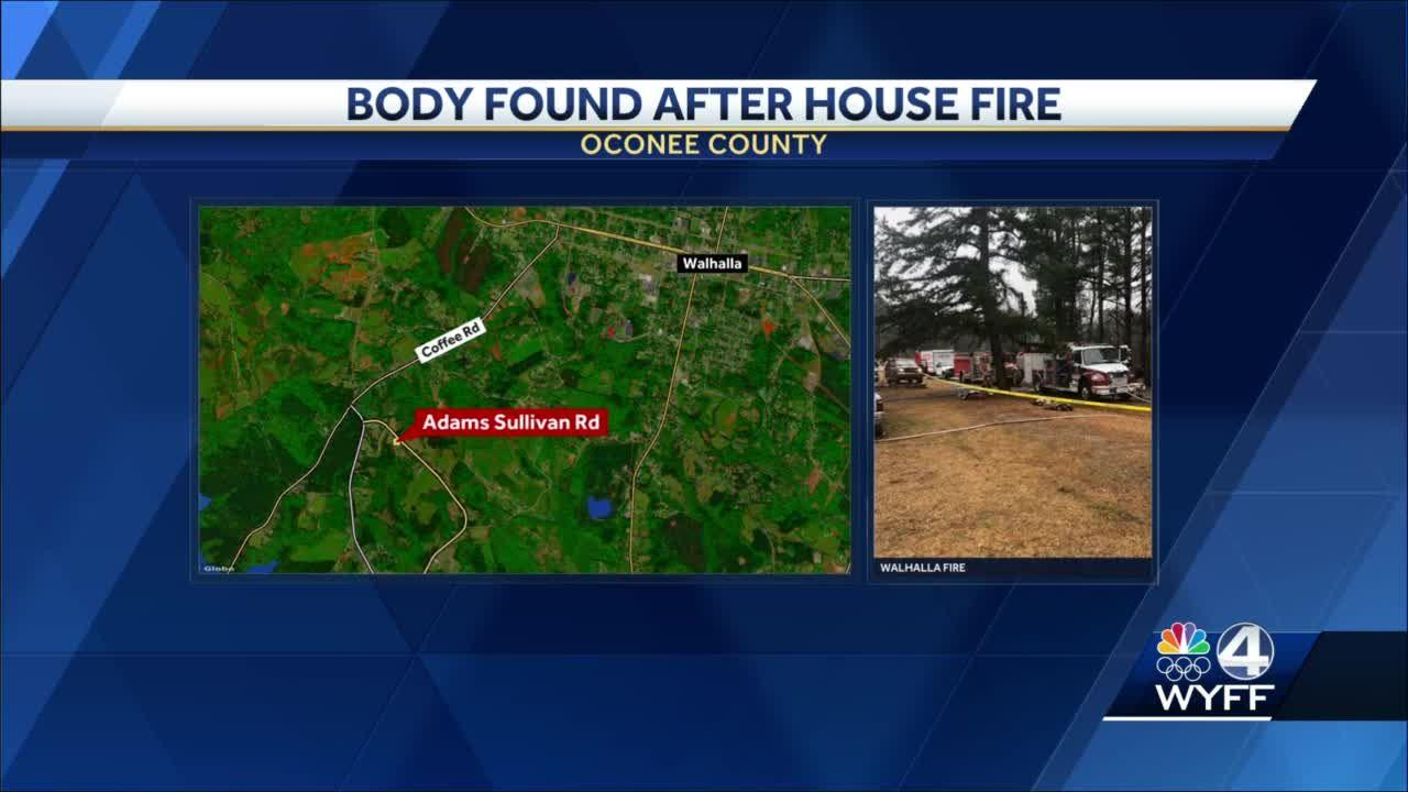 Body found in Upstate home after fire, deputies say