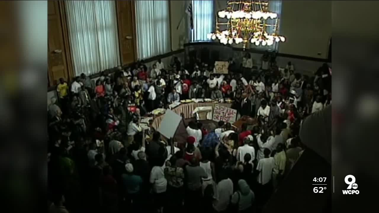 Tense Council Meeting