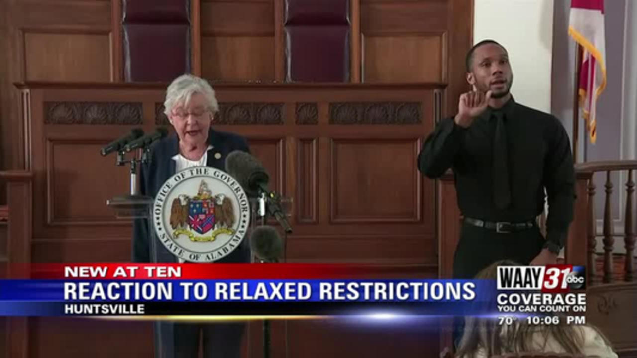 Reaction To Relaxed Restrictions