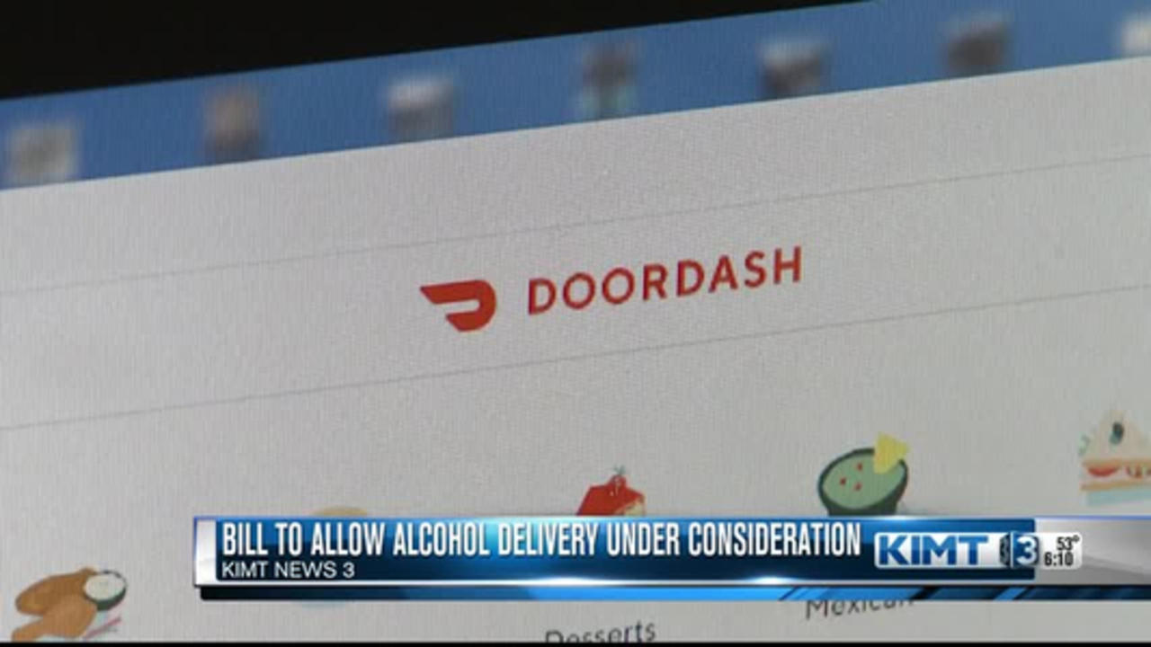 An IA bill would allow alcohol delivery via an app