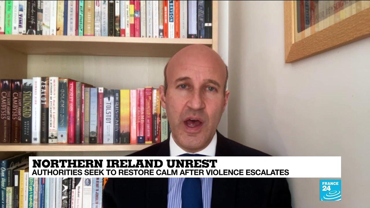 Belfast in turmoil as Brexit stokes tensions in Northern Ireland