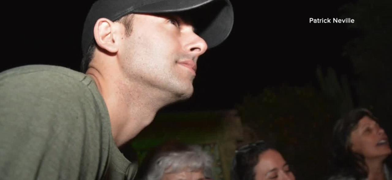 LVMPD Officer Shay Mikalonis returns home after rehabbing at specialized hospital
