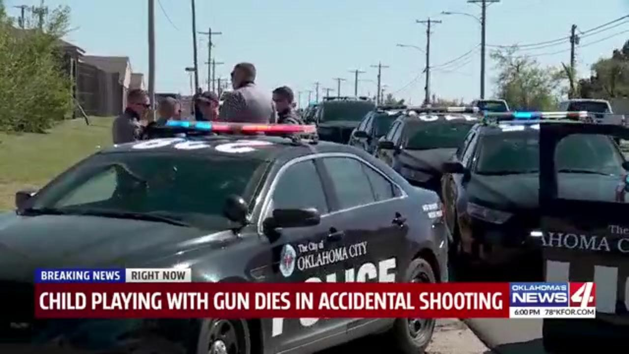 3-year-old child dies following accidental shooting in Oklahoma home
