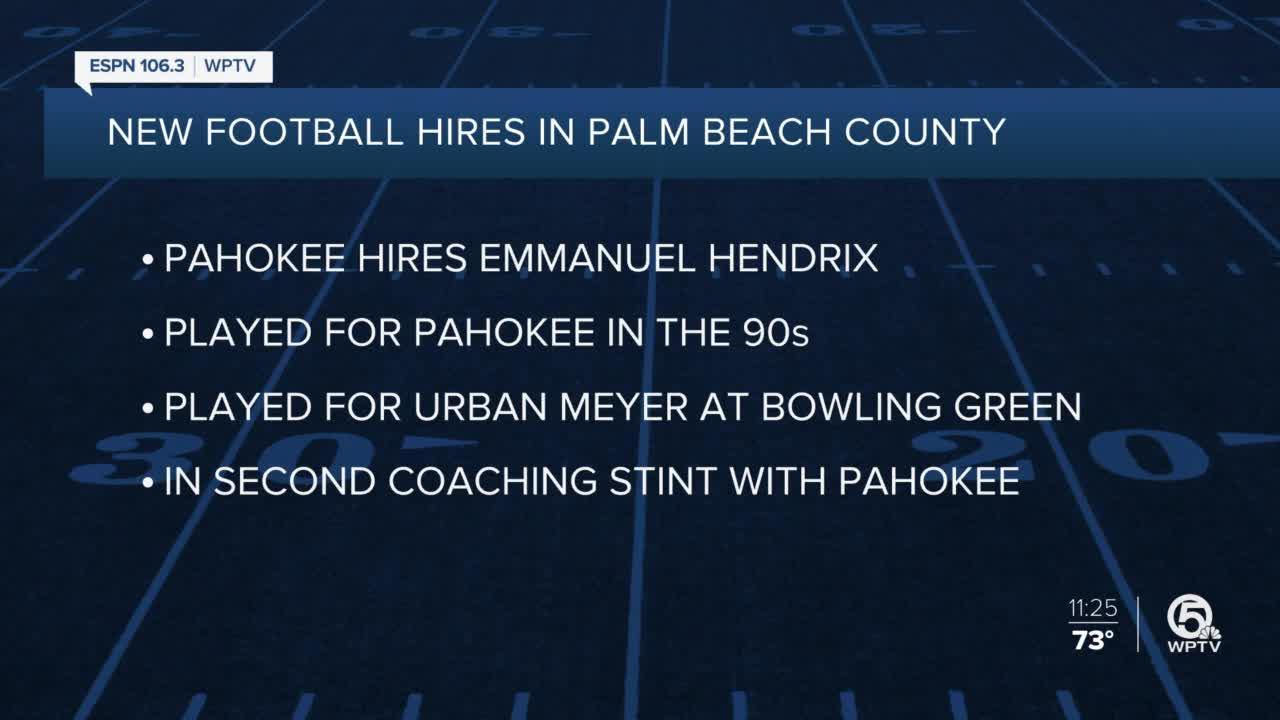 Pahokee and Park Vista name new head coaches