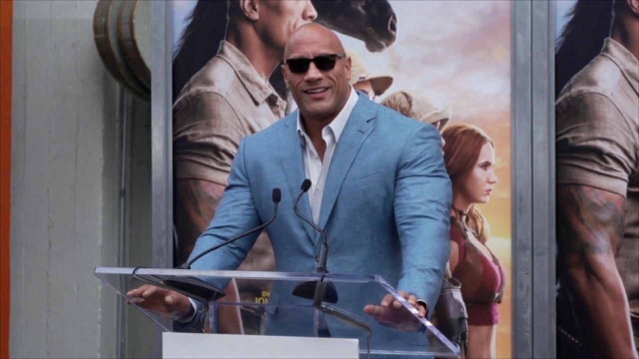 Americans want Dwayne Johnson to run for president