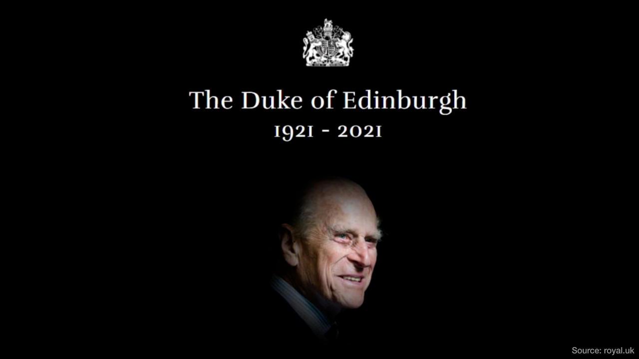 BREAKING NEWS: Prince Philip, Duke of Edinburgh, dies aged 99