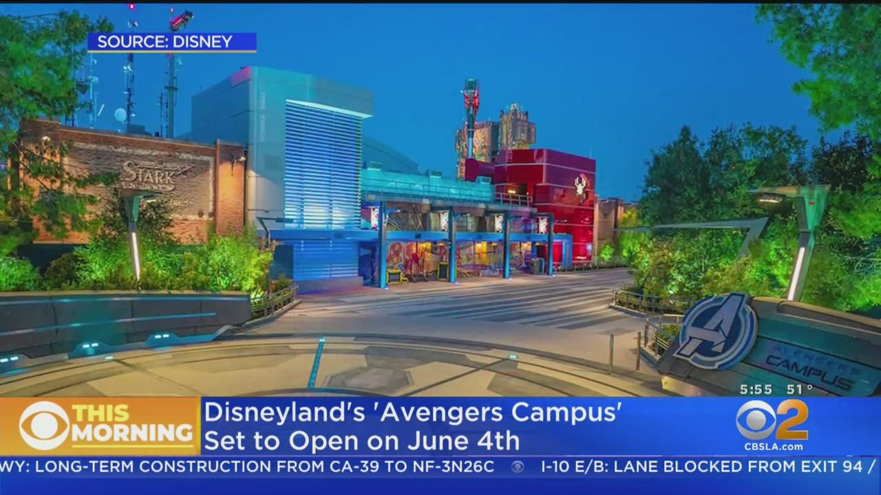 Disneyland's Avengers Campus To Open On June 4