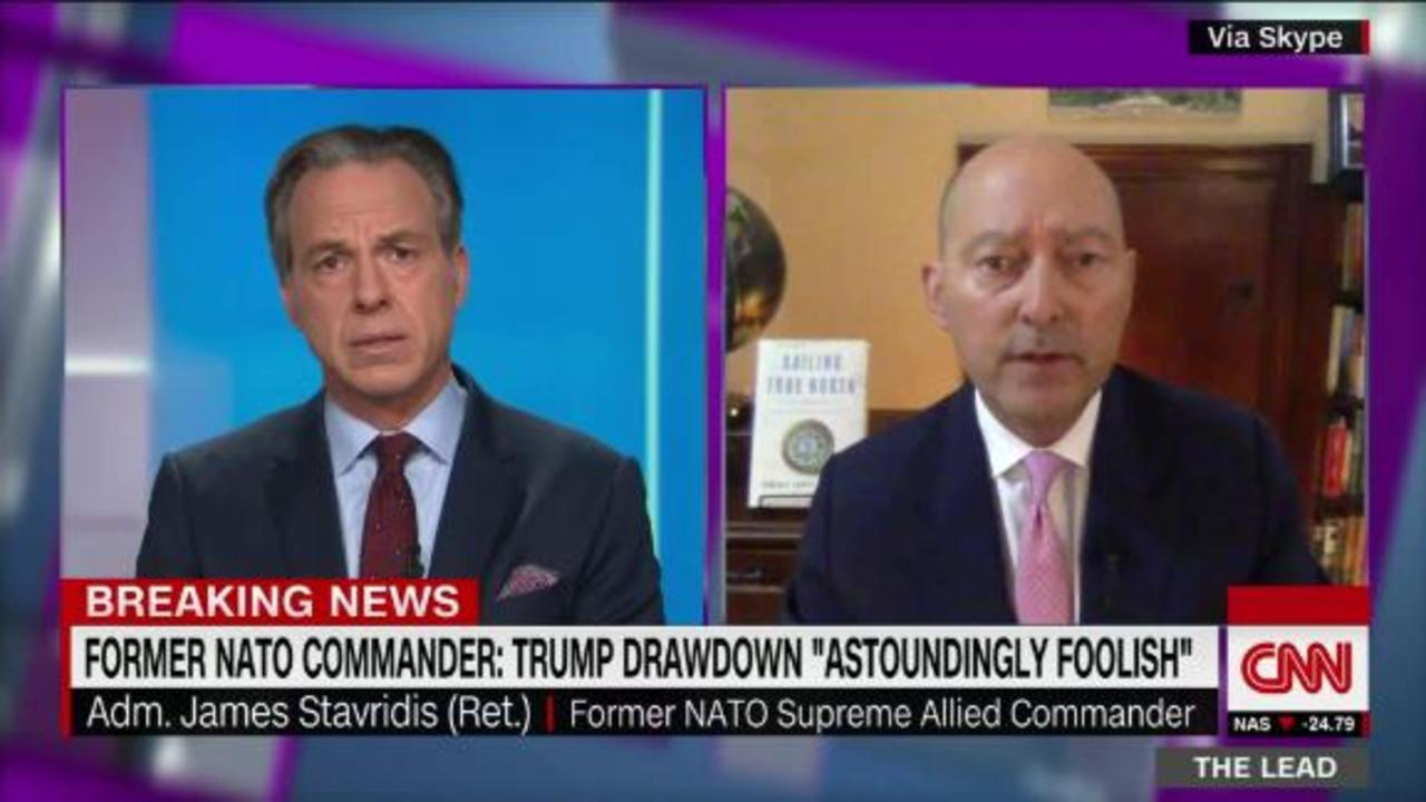Fmr NATO military commander: Trump's drawdown in Afghanistan & Iraq is 'astoundingly foolish from a military, strategic, diploma