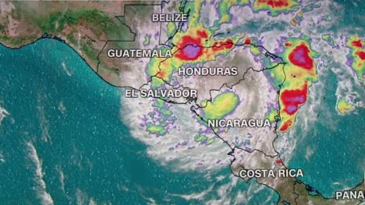 Iota downgraded to tropical storm after pummeling Nicaragua