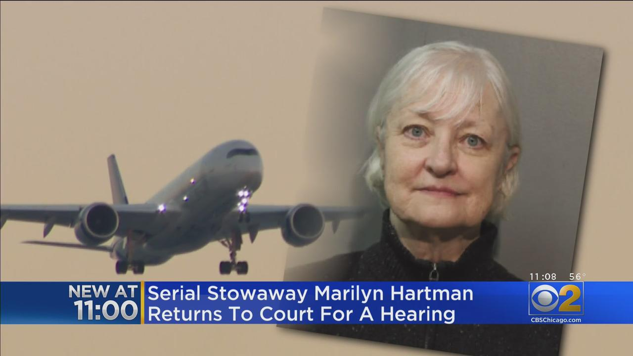 'Serial Stowaway' Marilyn Hartman Returns To Court For Hearing Friday