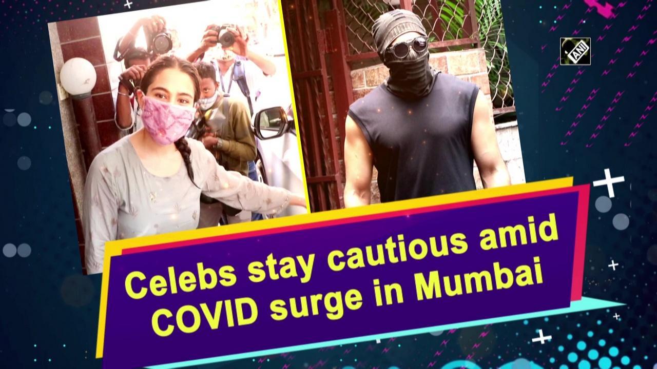 Celebs stay cautious amid COVID surge in Mumbai